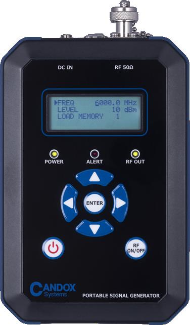 ポータブル信号発生器